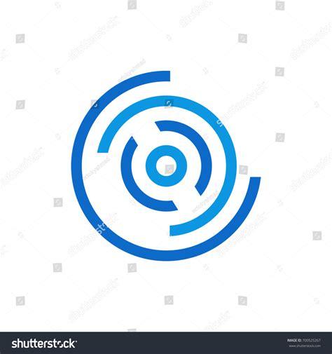 abstract circle logo template stock vector 700525267