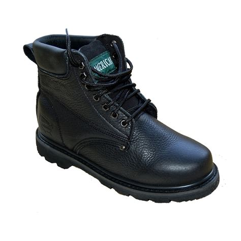 boot shoe for grain leather work boot outdoor shoes for