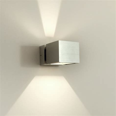 asteria modern led up and aluminium exterior wall - Contemporary Modern Wall Lights