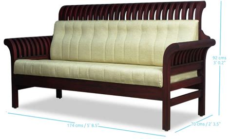wooden sofa set nature s bloom wooden sofa set mahogany rf