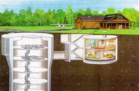nuclear missile silo turned luxury home listed for 750k