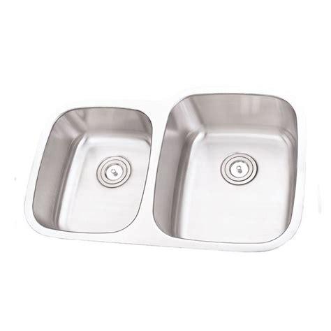 40 Kitchen Sink 32 Inch Stainless Steel Undermount 40 60 Offset Bowl Kitchen Sink 16