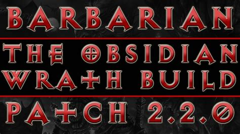 diablo 3 barbarian best build ros patch 204 youtube diablo 3 barbarian build season 3 obsidian build ros