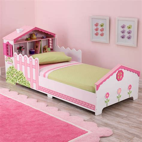 kidkraft dollhouse toddler bed contemporary toddler