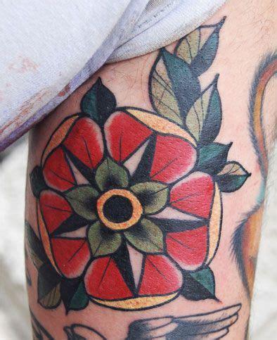 england rose tattoo tudor flower of tattoos tattoos