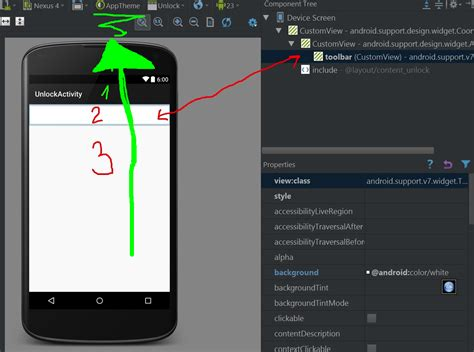 android not working java why does android studio always show actionbar in app design even when disabled stack