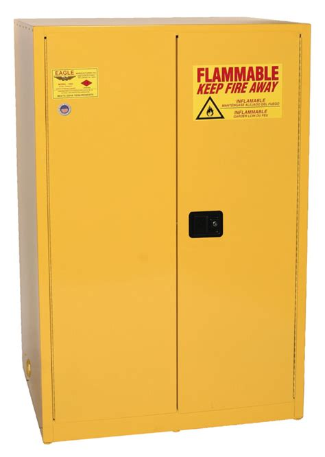 eagle flammable liquid safety storage cabinet 30 gal