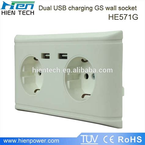 Usb Charger Only Europe Socket Model A1265 europe usb wall socket eu standard wall socket with usb charging ports for smartphone and tablet