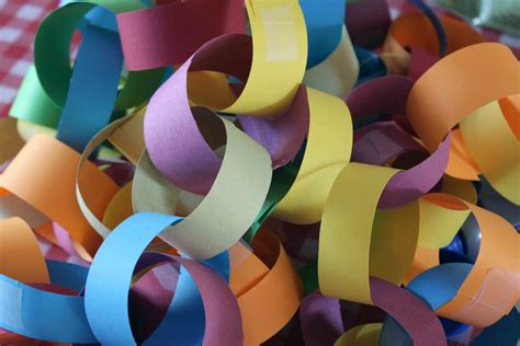 Paper Chains - stitchlily one many paper chains perhaps