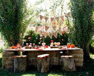 Outdoor Party 37 ideas for halloween table decorations table