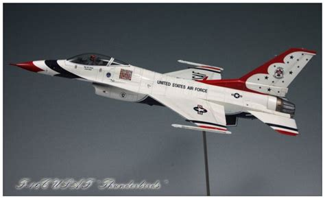 Taniya Nevada 1 48 tamiya f 16c usaf quot thunderbirds quot by yiming jin