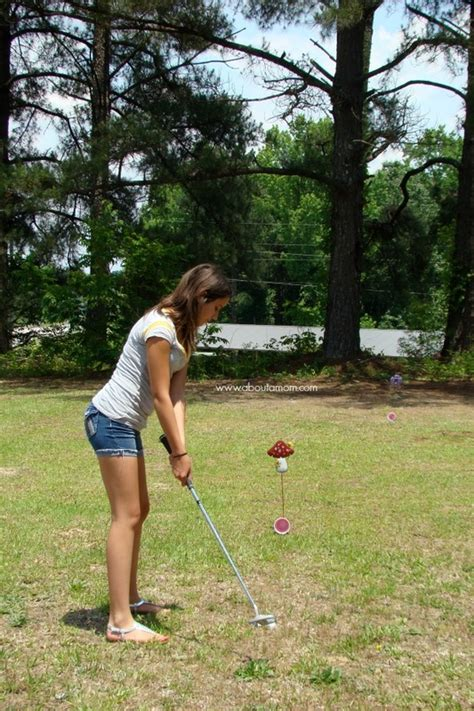Backyard Putting Greens Cost 10 Ideas To Make Summer Memories At Home About A Mom