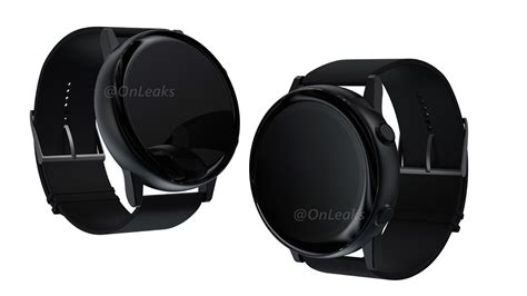 upcoming samsung galaxy smartwatch shown   renders phonedog