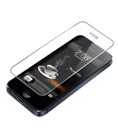 Tempered Glass For Apple Iphone 4 apple iphone 4 tempered glass screen guard by wow mobile screen guards at low prices