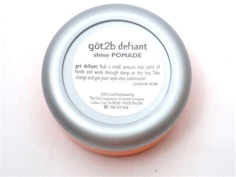 Pomade Got2b got2b shine pomade defiant s pomada p cabelo r 52