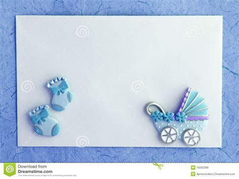 baby boy template card baby boy announcement card stock image image of child