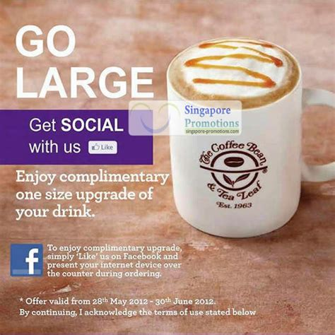 Coffee Bean Gift Card Singapore - the coffee bean tea leaf 28 may 2012 187 the coffee bean tea leaf free drink upgrade