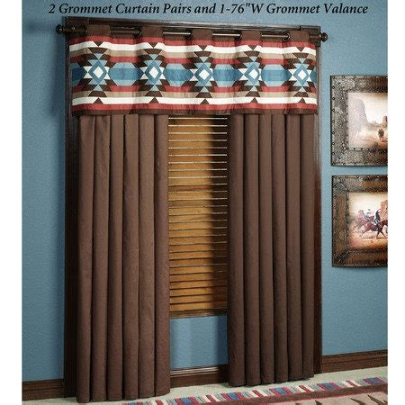 southwestern curtains drapes 13 best home decor images on pinterest southwest decor