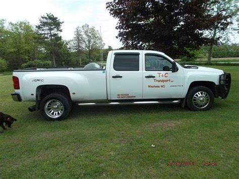 2008 chevrolet silverado 3500 for sale used cars for sale find used 2008 chevy 3500 duramax dually in wautoma wisconsin united states for us 25 000 00