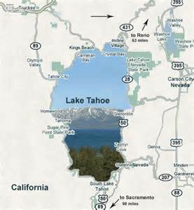 map of tahoe city ca tahoe city california hotels html