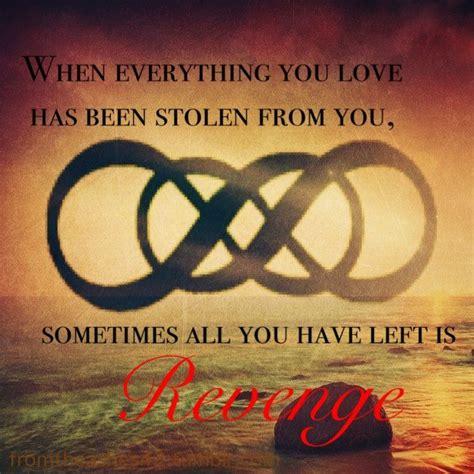 tattoo meaning revenge double infinity revenge words pinterest revenge