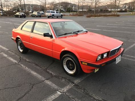car owners manuals for sale 1984 maserati biturbo regenerative braking maserati biturbo for sale hemmings motor news