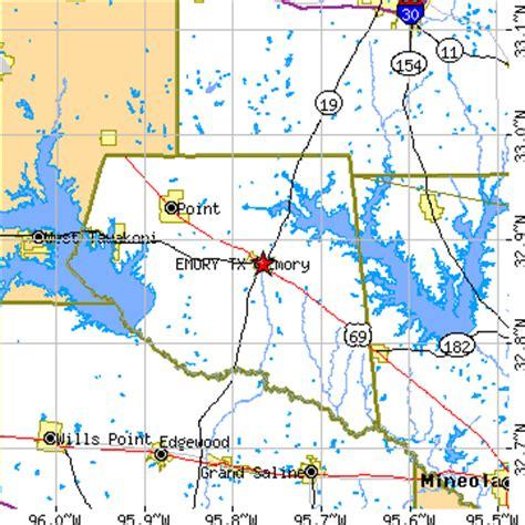 emory texas map emory texas tx population data races housing economy