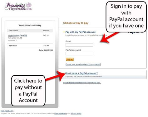 how to make a paypal account without a credit card how to use our website simple
