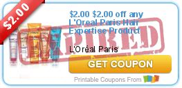 l oreal products 5 00 printable coupon high dollar coupon for l oreal hair expertise products grocery shop for free at the mart