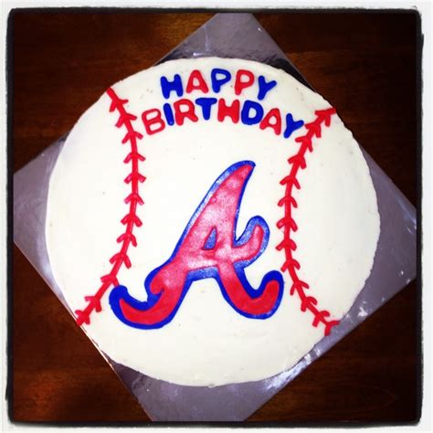 themed birthday cakes atlanta 1000 ideas about atlanta braves cake on pinterest red