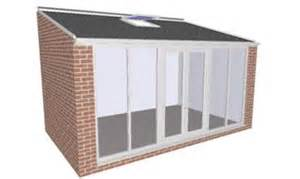 Sunroom Kits Pre Fabricated House Extensions With Tiled Roofs