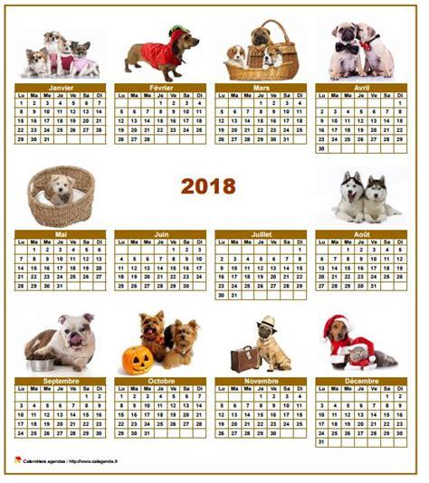 Calendrier Chien 2018 Calendrier 2018 Annuel Sp 233 Cial Chiens Avec 10 Photos