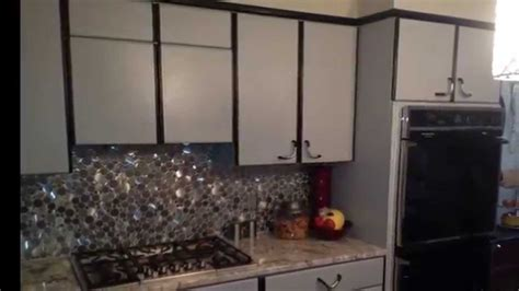 Paint Ideas For Kitchen Cabinets by Airless Spray Paint Laminate Kitchen Cabinets Youtube