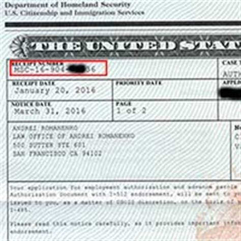 Search Uscis Status Check Uscis Status With Receipt Number