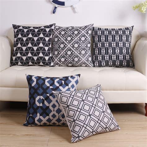 scandinavian home decor with simple wooden cushion rack luniwei pillow case christmas home decor bed sofa cushion