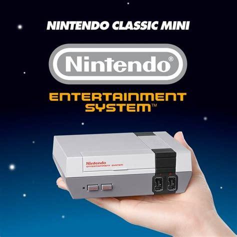nintendo classic mini nintendo entertainment system nintendo classic mini nintendo entertainment system