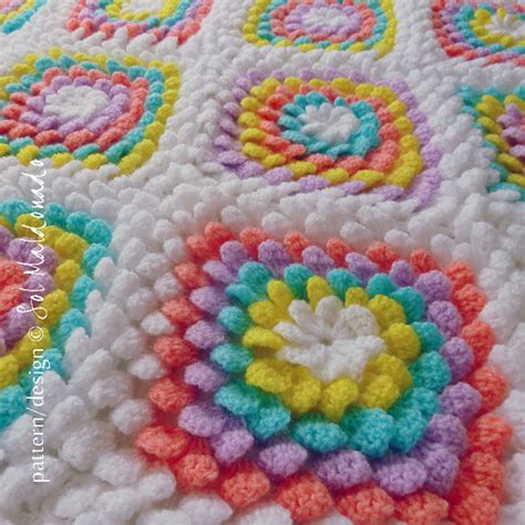 Plum Runner Rug Crochet Flower Baby Blanket Pattern Www Imgkid Com The