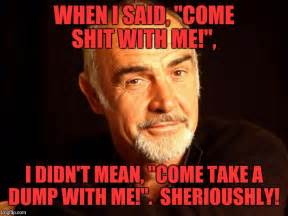 Sean Connery Memes - sean connery of coursh imgflip