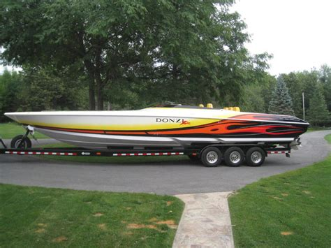 donzi boats for sale ny 2007 donzi 38 zr powerboat for sale in new york