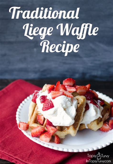 liege waffle recipe popular recipes traditional belgian liege waffle recipe ashlee