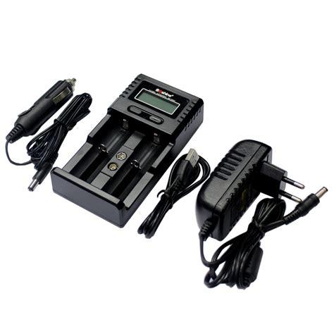 Baterai V2 jual soshine h2 v2 charger 2 slot dgn lcd display alat