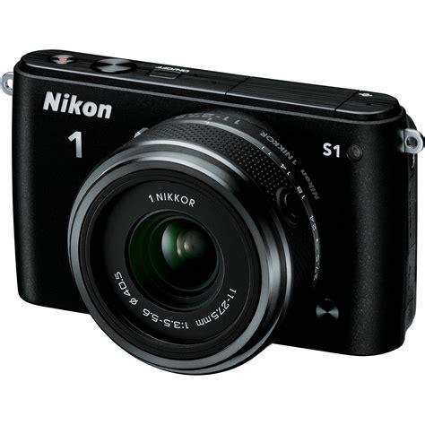 nikon mirrorless digital nikon 1 s1 mirrorless digital with 11 27 5mm lens 27617