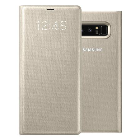 Official Samsung Led Flip Wallet Galaxy S8 Orchid Grey samsung galaxy note 8 led view wallet gadgets finder