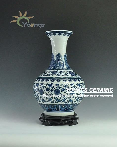 porcelain blue and white vases for wholesale view