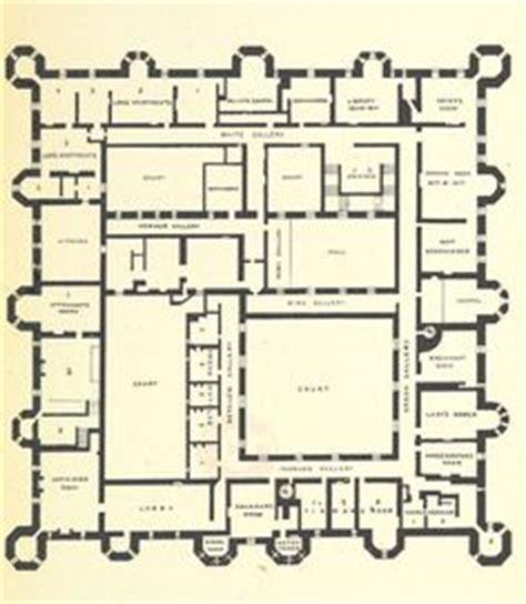 burghley house floor plan plan of burghley house england floor plans castles