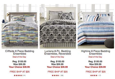 Macy?s: 8 Piece Bedding Ensemble $39.99 (Reg. $100)   Free Shipping!