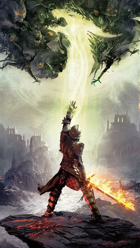 dragon age inquisition game art android wallpaper
