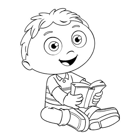Super Why Coloring Pages Best Coloring Pages For Kids Coloring Page For