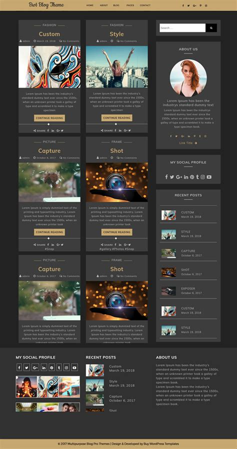 blog themes buy best free ultimate blogger wordpress theme for bloggers of