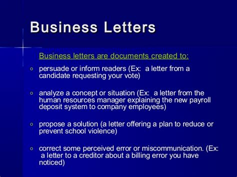 Company Introduction Letter Ppt letterwriting ppt